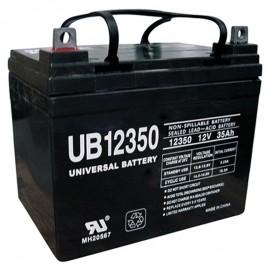 12v U1 Wheelchair Battery replaces 36ah Shoprider 109101-88107-36P