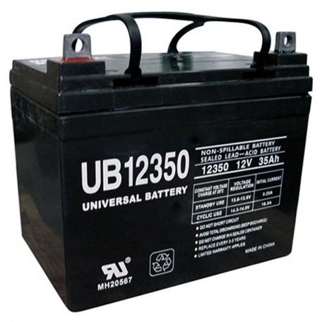 12v 35ah U1 Wheelchair Battery replaces 33ah C&D Dynasty DCS-33