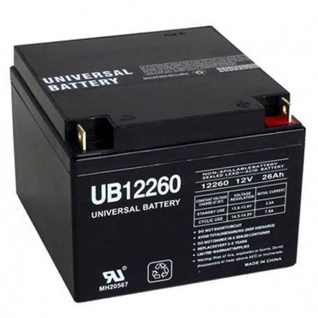 12v 26ah Wheelchair Battery replaces 24ah Enduring CB24-12, CB-24-12