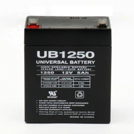 12 Volt 5 ah Home Automation Battery replaces 12v 5ah HAI 44A021