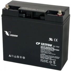 CP12170H-X SLA AGM 12v 17ah Heavy Duty Vision Battery