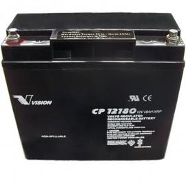 CP12180XRP 12v 18ah XRP Reverse Polarity SLA AGM Generator Battery