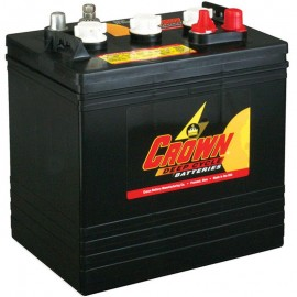Crown CR-220 CR 220 6 volt 220 ah GC2 Deep Cycle Wet Solar Battery