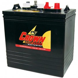 Crown CR-235 CR 235 6 volt 235 ah GC2 Deep Cycle Wet Solar Battery
