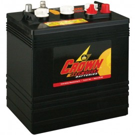 Crown CR-260 CR 260 6 volt 260 ah GC2H Deep Cycle Wet Solar Battery