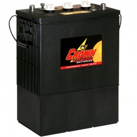 Crown CR-370 CR 370 6v 370 ah L16 L-16 Deep Cycle Wet Solar Battery