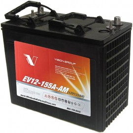 12 volt 133ah J185 EV12-155A-AM Sealed AGM Scrubber Sweeper Battery