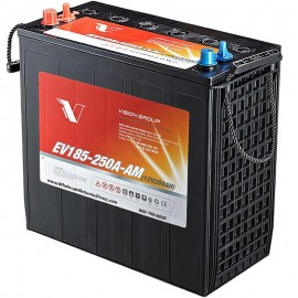 12v 250ah J185 EV185-250A-AM Sealed AGM Scrubber Sweeper Battery