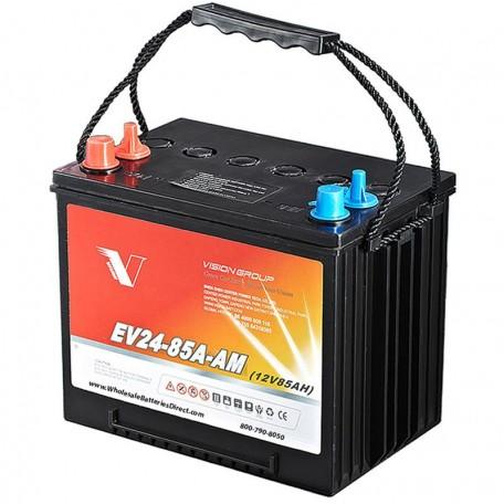 12v 85ah Group 24 EV24-85A-AM Sealed AGM Scrubber Sweeper Battery