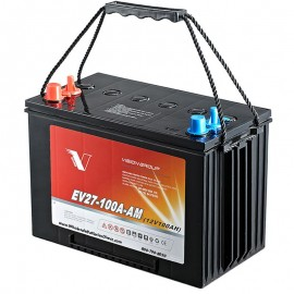 12v 100ah Group 27 EV27-100A-AM Sealed AGM Scrubber Sweeper Battery