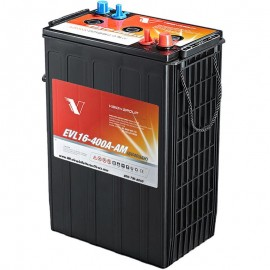 6 volt 400ah L16 L-16 L 16 EVL16-400A-AM Sealed AGM Solar Battery