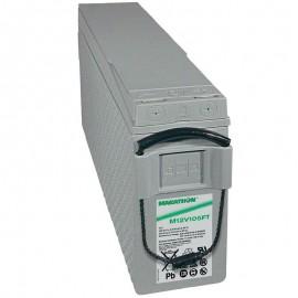 GNB Marathon M12V105FT 12v 104ah Front Access Terminal Telecom Battery