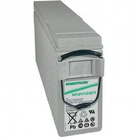 GNB Marathon M12V125FT 12v 125ah Front Access Terminal Telecom Battery