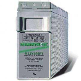 GNB Marathon M12V180FT 12v 180ah Front Access Terminal Telecom Battery