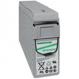 GNB Marathon M12V90FT 12v 86ah Front Access Terminal Telecom Battery