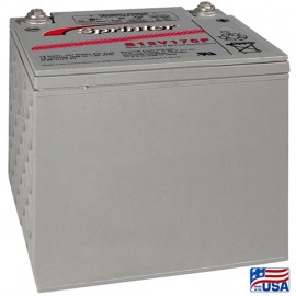 GNB Sprinter S12V170F S12V170 High Rate 12 volt Sealed AGM Battery