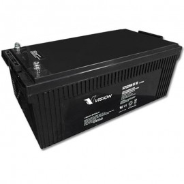 12 Volt 250ah 8D SCP122500 Deep Cycle Sealed AGM Solar Battery