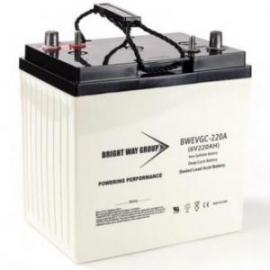 6 volt 220ah BWEVGC-220A Sealed AGM Heavy Duty Solar Battery