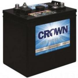 Crown 6CRV220 Sealed AGM 6 volt 220 ah GC2 Solar Scrubber Battery