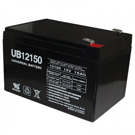 12 Volt 15ah (12v 15a) UB12150 Electric Bike Bicycle Battery