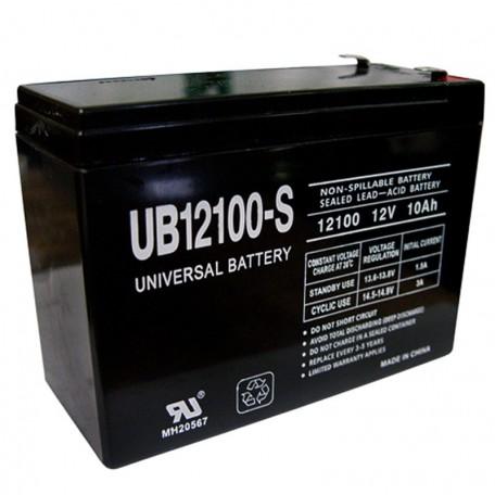 12 Volt 10ah (12v 10a) UB12100S Electric Bike Bicycle Battery