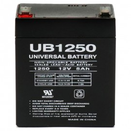 12 Volt 5ah UB1250 Electric Scooter Battery replaces 4ah