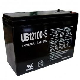 12v 10ah UB12100S Scooter Battery for Shoprider TPH12100, TPH 12100