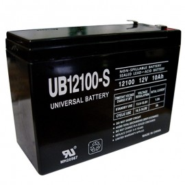 12v 10ah UB12100S Scooter Battery for Shoprider TPH12100, TPH 12100