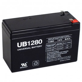 12v 8a UPS Battery replaces 7.2ah Power PM12-7.2 with .25 terminals
