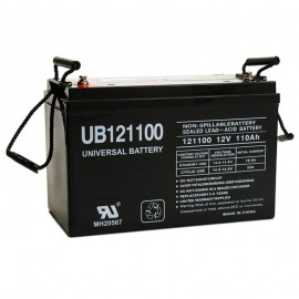 12v 110ah UB121100 UPS Battery replaces Power PRC-12120S, PRC12120S