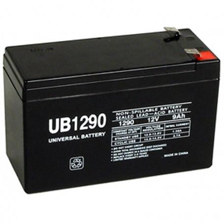 12v 9ah UPS Backup Battery replaces Vision HP12-50W, HP 12-50W F2