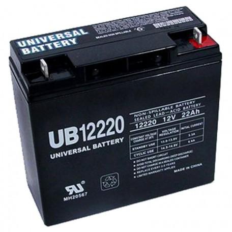 12 Volt 22 ah UPS Battery replaces 20ah Vision CP12200, CP 12200