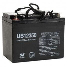 UB12350 UPS Battery replaces U1 31.4ah Vision 6FM33D-X, 6 FM 33D-X