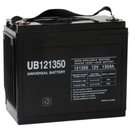 12v 135ah UPS Battery replaces 134ah Vision 6FM134-X, 6 FM 134-X