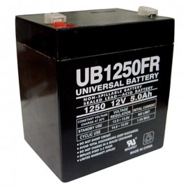 12v 5a UPS Battery replaces Power-Sonic PSH-1255 F2 FR, PS1255 F2 FR