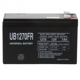 12v 7ah UPS Battery replaces 8.5ah Power-Sonic PSH-1280 F2 FR