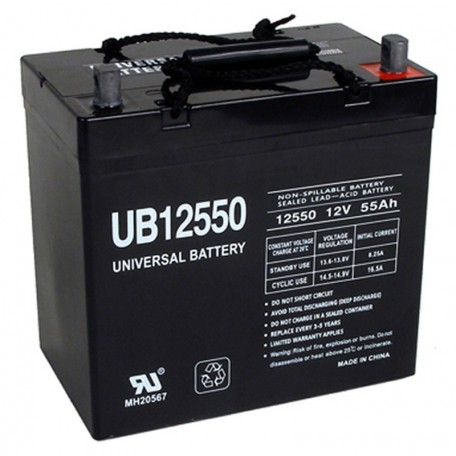 12v 55ah 22NF UPS Battery replaces Power-Sonic PS-12550, PS12550