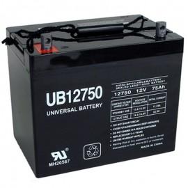 12v 75ah UPS Battery replaces 70ah Union Battery MX-12700, MX12700