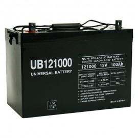 12v 100ah UPS Battery replaces Union Battery MX-121000, MX121000