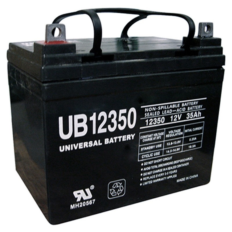 12V 35Ah NB Replacement Battery Compatible with The Johnson Controls U133