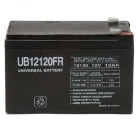 12v 12ah Flame Retardant UPS Battery for Yuasa DataSafe 12HX50T-FR