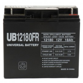 12v 18a Flame Retardnt UPS Battery replaces Yuasa DataSafe 12HX80FR