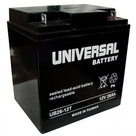 12v 26ah Ups Battery Replaces 95w Genesis Datasafe Npx 100 Npx100