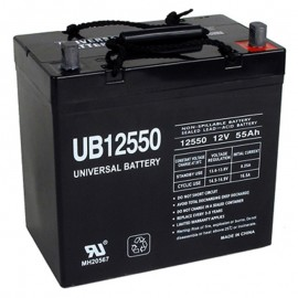 12v 55ah Flame Retardant UPS Battery replaces Genesis NP55-12FR