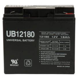 12 Volt 18 ah UB12180 UPS Battery replaces Werker WKA12-18F2