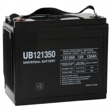 12v 135a UB121350 UPS Standby Battery replaces GNB Sprinter S12V500