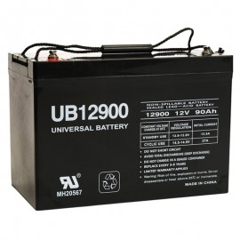 12v 90ah Group 27 UPS Battery replaces 337 watt Haze UPS310, UPS 310