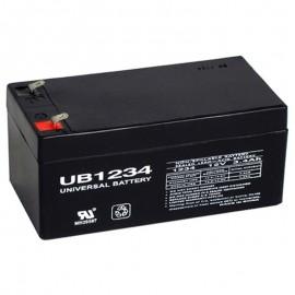 12v 3.4ah UB1234 UPS Battery replaces 3.2ah Ritar RT1232, RT 1232