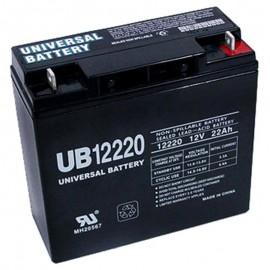 12v 22ah UPS Battery replaces 20ah 82.6w Ritar RT12200H, RT 12200H