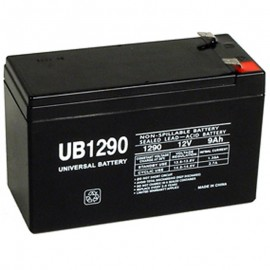 12v 9ah UPS Backup Battery replaces Alpha Tech HRL1234W, HRL 1234W